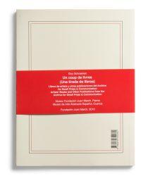 Catalogue : Un coup de livres (una tirada de libros). Libros de artista y otras publicaciones del Archive for Small Press & Communication