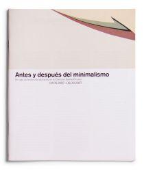 Catalogue : Antes y después del minimalismo. Un siglo de tendencias abstractas en la colección DaimlerChrysler