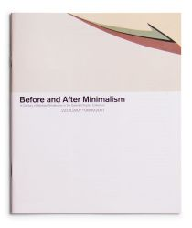See catalogue details: BEFORE AND AFTER MINIMALISM