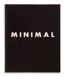 See catalogue details: MINIMAL ART