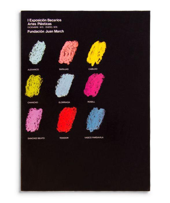 Catálogo : Exposición becarios de artes plásticas I
