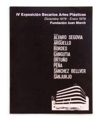 Catálogo : Exposición becarios de artes plásticas IV