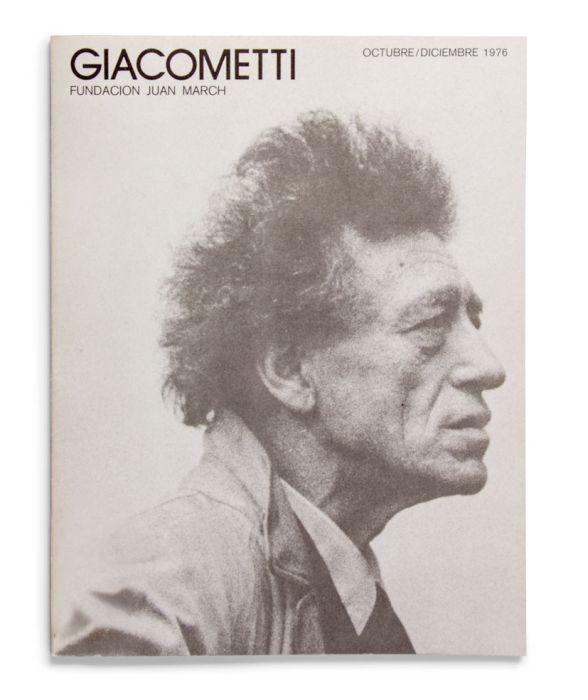 Catálogo : Giacometti. Colección de la Fundación Maeght