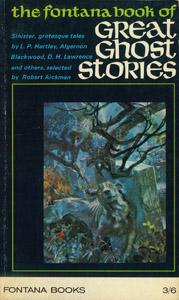 Cubierta de la obra : Great ghost stories