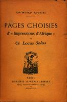"""Ver ficha de la obra: Pages choisies d'""""Impressions d'Afrique"""" et de """"Locus solus"""""""