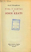 Ver ficha de la obra: Vida y cartas de John Keats