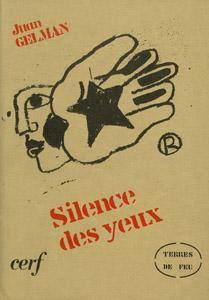 Cubierta de la obra : Silence des yeux