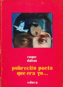 Cubierta de la obra : Pobrecito poeta que era yo