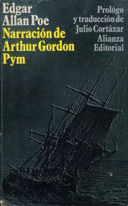 Front Cover : Narración de Arthur Gordon Pym de Nantucket