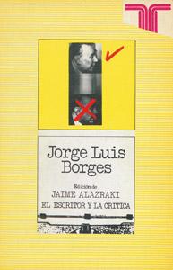 Front Cover : Jorge Luis Borges