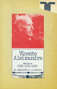 Front Cover : Vicente Aleixandre