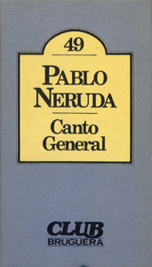 Front Cover : Canto general