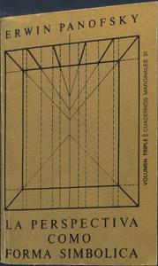 """Cubierta de la obra : La perspectiva como """"forma simbólica"""""""