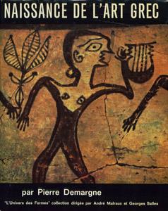 Cubierta de la obra : Naissance de l'art grec