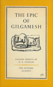 Cubierta de la obra : The epic of Gilgamesh