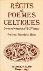 Cubierta de la obra : Récits et poèmes celtiques