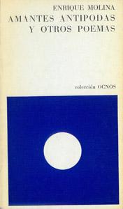 Cubierta de la obra : Amantes antípodas y otros poemas
