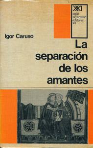 Front Cover : La separación de los amantes