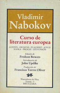 Cubierta de la obra : Curso de literatura europea