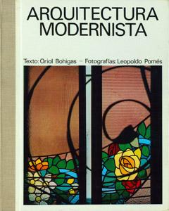Cubierta de la obra : Arquitectura modernista