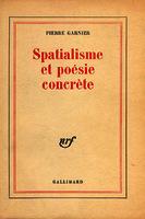 Ver ficha de la obra: Spatialisme et poésie concrète