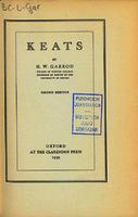 Ver ficha de la obra: Keats