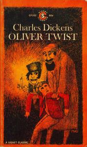 Cubierta de la obra : Oliver Twist