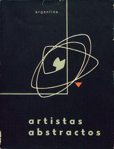 Cubierta de la obra : Artistas abstractos de la Argentina