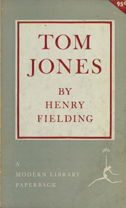 Cubierta de la obra : The history of Tom Jones