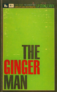 Cubierta de la obra : The ginger man