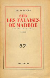 Front Cover : Sur les falaises de marbre