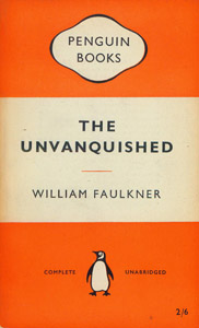 Front Cover : The unvanquished