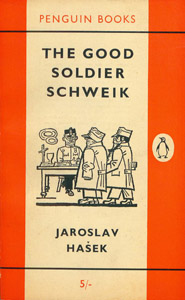 Cubierta de la obra : The good soldier Schweik