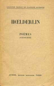 Front Cover : Hoelderlin
