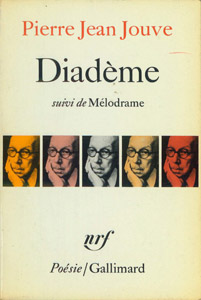 Cubierta de la obra : Diadème ; suivi de Mélodrame
