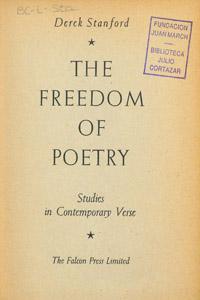 Cubierta de la obra : The freedom of poetry