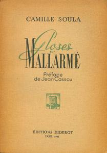 Cubierta de la obra : Gloses sur Mallarmé