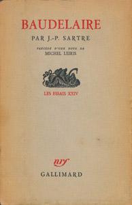 Cubierta de la obra : Baudelaire