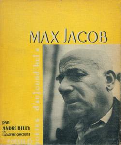 Cubierta de la obra : Max Jacob