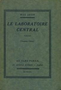 Cubierta de la obra : Le laboratoire central