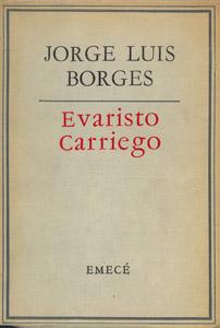Cubierta de la obra : Evaristo Carriego