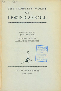 Cubierta de la obra : The complete works of Lewis Carroll