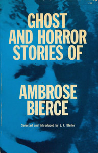 Cubierta de la obra : Ghost and horror stories of Ambrose Bierce