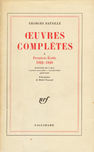 Front Cover : Oeuvres complètes
