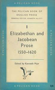 Front Cover : The Pelican book of English prose