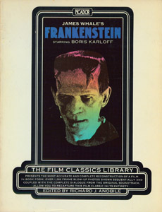 Front Cover : Frankenstein