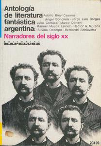 Front Cover : Antología de la literatura fantástica