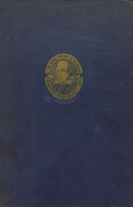 Cubierta de la obra : The works of William Shakespeare gathered into one volume