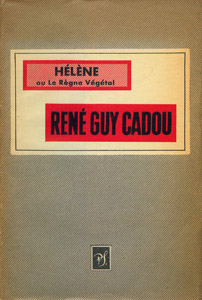 Cubierta de la obra : Hélène ou Le règne végétal