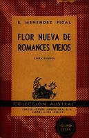Ver ficha de la obra: Flor nueva de romances viejos